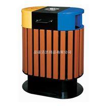 钢木分类垃圾桶 惠州垃圾桶 梅州垃圾桶