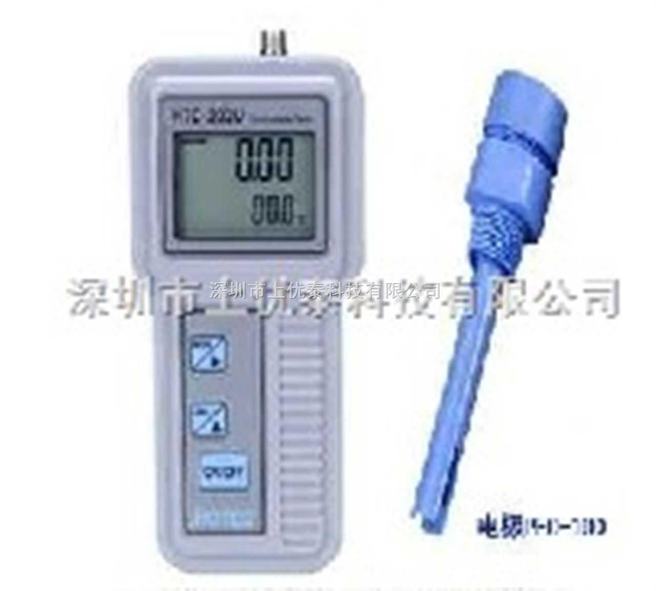 手提式微電腦電阻率儀/溫度計,手提式電阻率