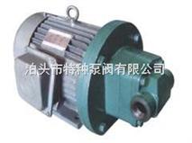 摆线齿轮油泵