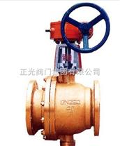 蜗轮传动氧气球阀QY347F