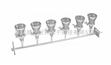 (现货)六联不锈钢溶液过滤器/多联溶液过滤器/六联溶液过滤器/实验室过滤器/薄膜过滤器