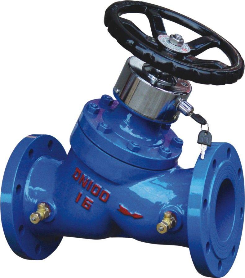 SP45F 上海姜森铸铁数字锁定平衡阀 静态平衡阀 平衡阀