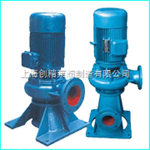 LW型无堵塞立式管道排污泵