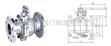 Q41F浮动式软密封球阀