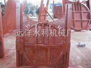 法蘭雙向止水鑄鐵鑲銅圓閘門