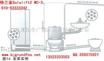 北京绞刀污水泵格兰富WC-3干式接触型电机的设计使得维修变得更加便利