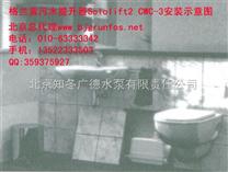 北京污水提升泵格兰富Sololift2 CWC-3可以帮您解决诸如卫生巾之类固体污物