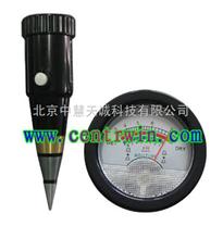 土壤酸度水分計/土壤酸濕度計/土壤酸堿度計/便攜式土壤酸度計型號:ZH6085