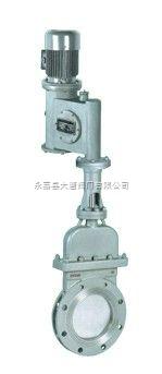 电液动陶瓷刀型闸阀