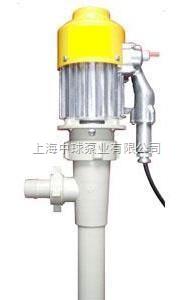 耐腐蚀油桶泵 塑料电动抽油泵