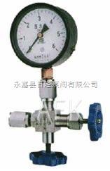 J29角式壓力表針型閥