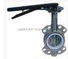 D343X手动碳钢法兰蝶阀