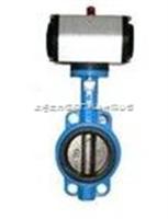 D671X-10气动中线型对夹蝶阀