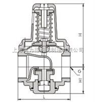 200P型YZ11X支管减压阀