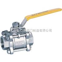 Q61三片式承插焊对焊球阀