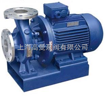 ISWH型臥式化工不鏽鋼管道泵/不鏽鋼管道離心泵