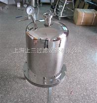 正压过滤器、筒式过滤器、小型过滤器、可定制各规格过滤器