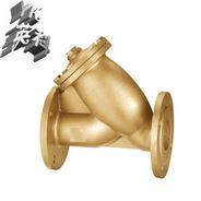 法兰铜过滤器