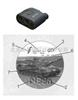 LRM单筒手持式激光测距仪/测速仪/测高仪/测角仪